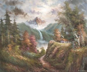艺术品图片:艺术家黄联合油画作品《黄联合 油画作品》价格300000.00 元