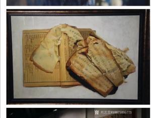 艺术品图片:艺术家18875095773油画作品《写实油画《痕迹》》议价