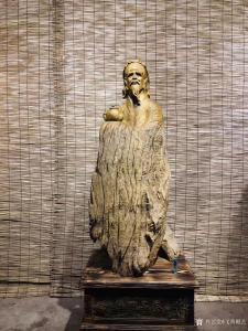 艺术品图片:艺术家飞黄根艺雕刻作品《根雕-陆羽品茶》议价