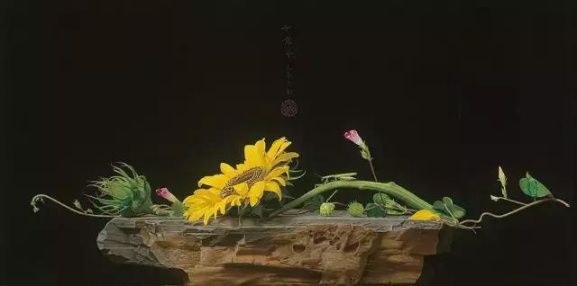 刘向东景物写生作品《如意令》 45.90厘米