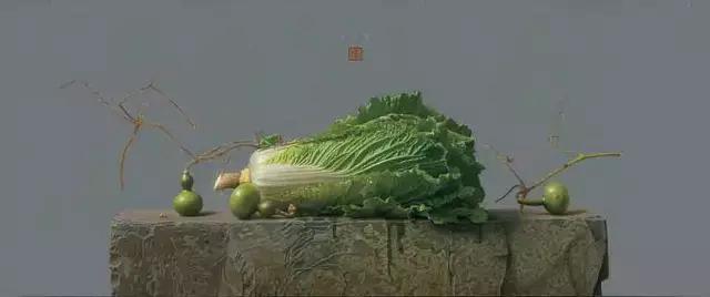 刘向东景物写生作品《青玉案》