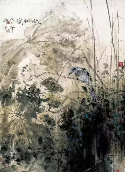 国画大师郑雅风 荷花作品欣赏