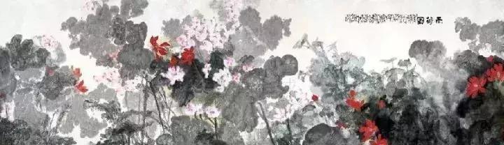 国画大师宋雨桂 荷花作品欣赏