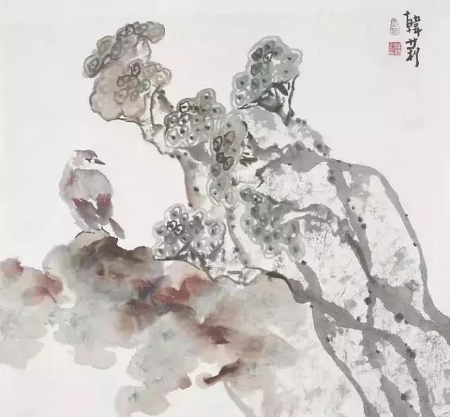 国画大师韩莉 荷花作品欣赏