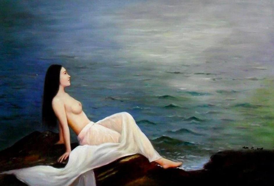 女人体油画