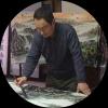 书画艺术家张怀林