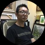 艺术家朱明