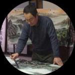 艺术家张怀林