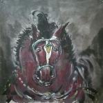 王东帝日志-神马多是浮云。四尺对开(组图)~王东帝绘画王国【图1】