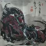 王东帝日志-神马多是浮云。四尺对开(组图)~王东帝绘画王国【图2】