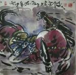 王东帝日志-神马多是浮云。四尺对开(组图)~王东帝绘画王国【图3】