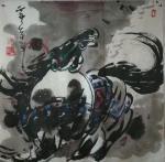 王东帝日志-神马多是浮云。四尺对开(组图)~王东帝绘画王国【图4】