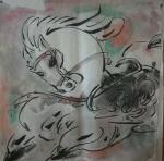 王东帝日志-神马多是浮云。四尺对开(组图)~王东帝绘画王国【图5】
