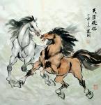 刘建国日志-近作 骏马图  请欣赏【图1】
