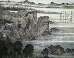 刘名杰日志-本人作品丁酉《北戴河胜境》规格180cm.145cm【图1】