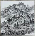 阎敏日志-罗浮山下,写生新得,国画山水,阎敏【图4】