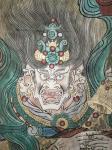 战乃明日志-战乃明 水彩画 条幅 《佛像》 有需要的亲们 欢迎来电咨询【图2】