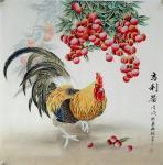 韩梅日志-四尺斗方工笔花鸟画《大富贵》《大吉利》,韩梅作品【图2】