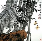魏杰日志-魏杰老师 水墨画 小作几幅 谢谢各位一直以来的支持 祝大家节【图2】