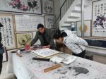李同辉生活-我去北部商城参加书画家笔会,有兴趣的朋友请前来观赏指导。【图2】