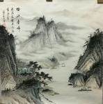 李伟成藏宝-中国古风山水画《万壑松风》,《烟江叠嶂》,《江堤晚景》,客户【图1】