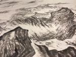 周鹏飞日志-国画《尼山颂圣图》吾历时半年创作完成:尺寸36米X5、5米 【图4】