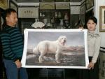邓凌鹰生活-我与著名画家李相民老师合作过的几幅作品。【图5】