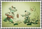 于波日志-《汪年欢乐吉祥》送给大家一组本人十多年前画的风俗小画赏玩戏尔【图3】