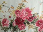 王长泉藏宝-牡丹国画《春色似锦花满园》,大八尺240×120cm,王长泉【图4】