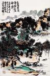 龚光万日志-国画《家居碧溪湾》,家居碧溪湾,胜过活神仙。龚光万【图1】