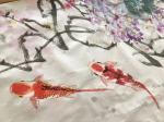 叶仲桥日志-学习加以运用、变化和构思,《锦上添花》这组画幅昨晚上已经基本【图3】