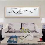 李沫池日志-作品装框效果,如何呢?在客厅弄上一幅。李沫池【图2】