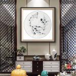 李沫池日志-作品装框效果,如何呢?在客厅弄上一幅。李沫池【图3】