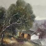 胡静藏宝-梁华涛的写生风景,优雅恬静洒脱的象诗一样美。胡静【图5】