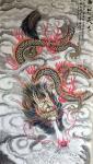 王丁藏宝-工笔画《龙行天下》,客户订制两幅,已完成 王丁【图2】