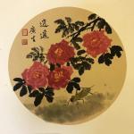石广生日志-《醉东风》 阳台的鲜花盛放,忍不住对着花涂上两笔。须眉汉子【图3】