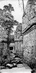 马培童日志-我画吴哥石窟,主要运用了 我们徐州汉画像石刻的刀法,凿,錾,【图1】