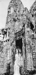 马培童日志-我画吴哥石窟,主要运用了 我们徐州汉画像石刻的刀法,凿,錾,【图3】