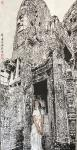 马培童日志-笔法,皴法的传承与创新,我爱吴哥石窟,石窟之宜人,石窟之气魄【图2】