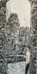 马培童日志-笔法,皴法的传承与创新,我爱吴哥石窟,石窟之宜人,石窟之气魄【图3】