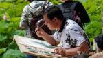 王嵩淼生活-这是我深入生活向大自然学习,吸收营养,更好的创作出有生活味道【图1】