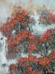 狄峰日志-国画山水新作《旭日東升福壽康寧》,尺寸【70/180】,歡迎【图2】