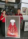 邓凌鹰日志-与著名画家李相民老师合作的画(他画我题字)美得已经不能再美了【图3】