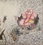 尚建国日志-书画艺术品的看点、结缘点、收藏点在自身的特点,而特点来源于艺【图5】