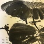 石广生日志-国画《雨后》 在写意画中加入工笔的手法,也未尝不可,齐白石【图1】