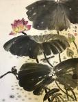 石广生日志-国画《雨后》 在写意画中加入工笔的手法,也未尝不可,齐白石【图3】
