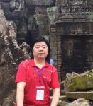 """马培童日志-十""""心与物合,笔与神会"""",   我在柬埔寨吴哥窟写生 ,将【图1】"""