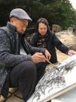 叶仲桥生活-近日李照东大师来电叫我参加他在深圳的画展,中国国画院岭南分院【图5】