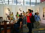 甘庆琼荣誉-深圳《甘庆琼中国画作品展》第三天,迎来人流高峰,观展者、媒体【图2】