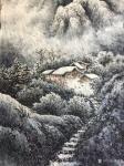 冯建德日志-天气太热啦,画一幅夜景和一副幅雪景找找凉快的感觉!【图5】